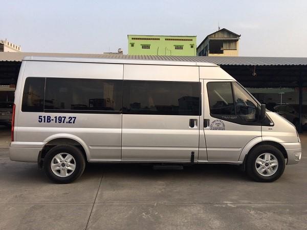 Dịch vụ cho thuê xe 16 chỗ giá rẻ TPHCM tại Á Châu