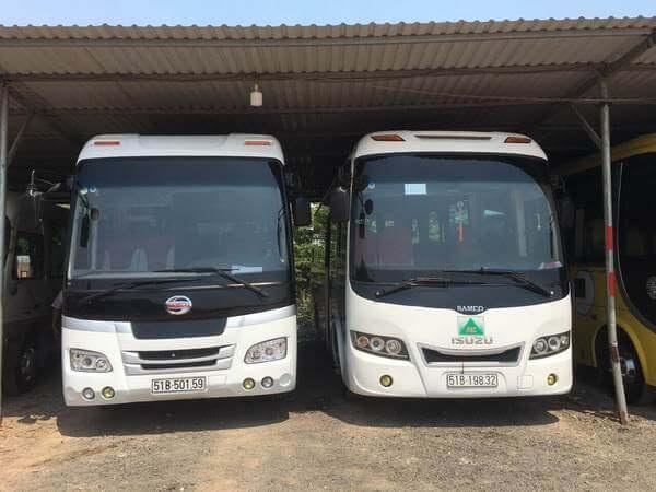 Chọn dịch vụ có nhiều loại xe để lựa chọn