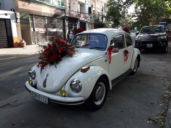 Mẫu xe hoa cưới mang phong cách cổ điển
