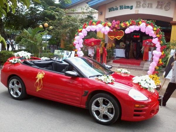 Các mẫu xe hoa tại Á Châu luôn hiện đại, sang trọng, lộng lẫy