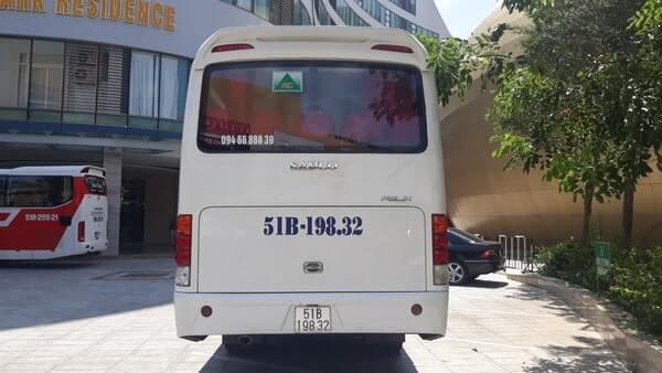 Dịch vụ cho thuê xe du lịch 29 chỗ giá rẻ TPHCM
