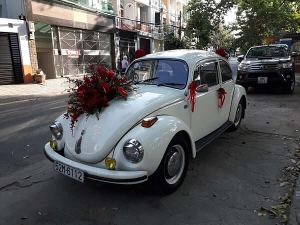 Xe hoa cổ với nét đẹp cổ điển