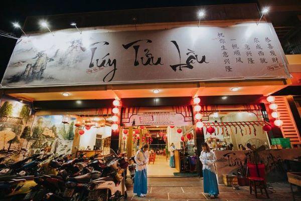 Túy Tửu Lầu - quán lẩu mang phong cách cổ trang Trung Quốc